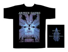 At The Gates Burning Darkness - T-paita