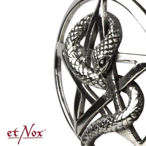 etNox Snake Pentagram Kaulakoru