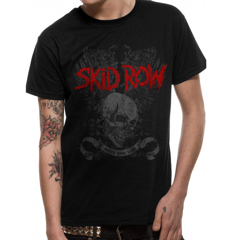 Skid Row Youth Gone Wild - T-paita