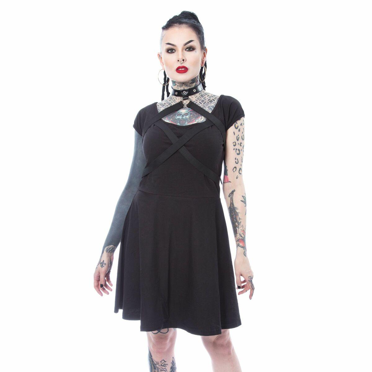 Musta harness mekko | Pahis.fi