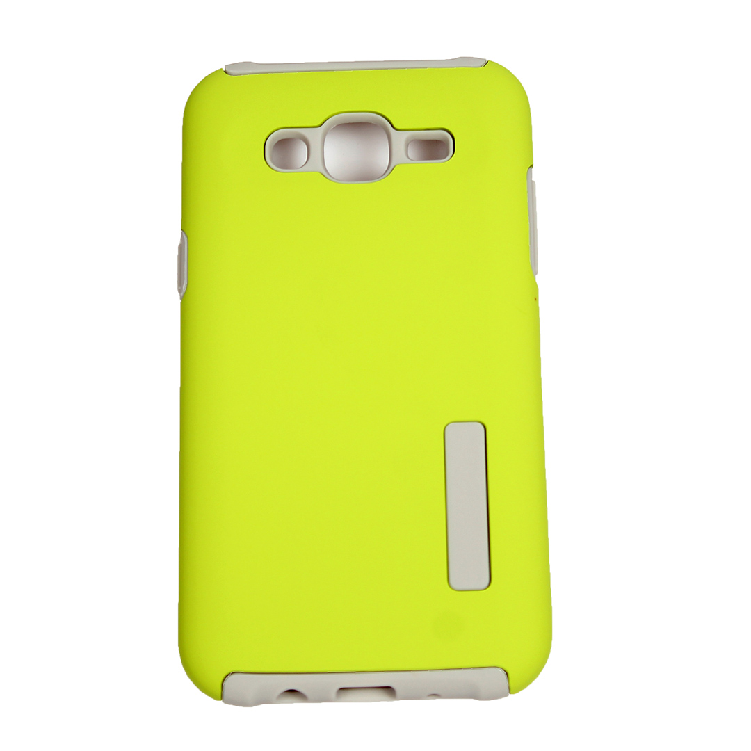 Lime Green - Suojakuori, Samsung Galaxy J5 (2015)