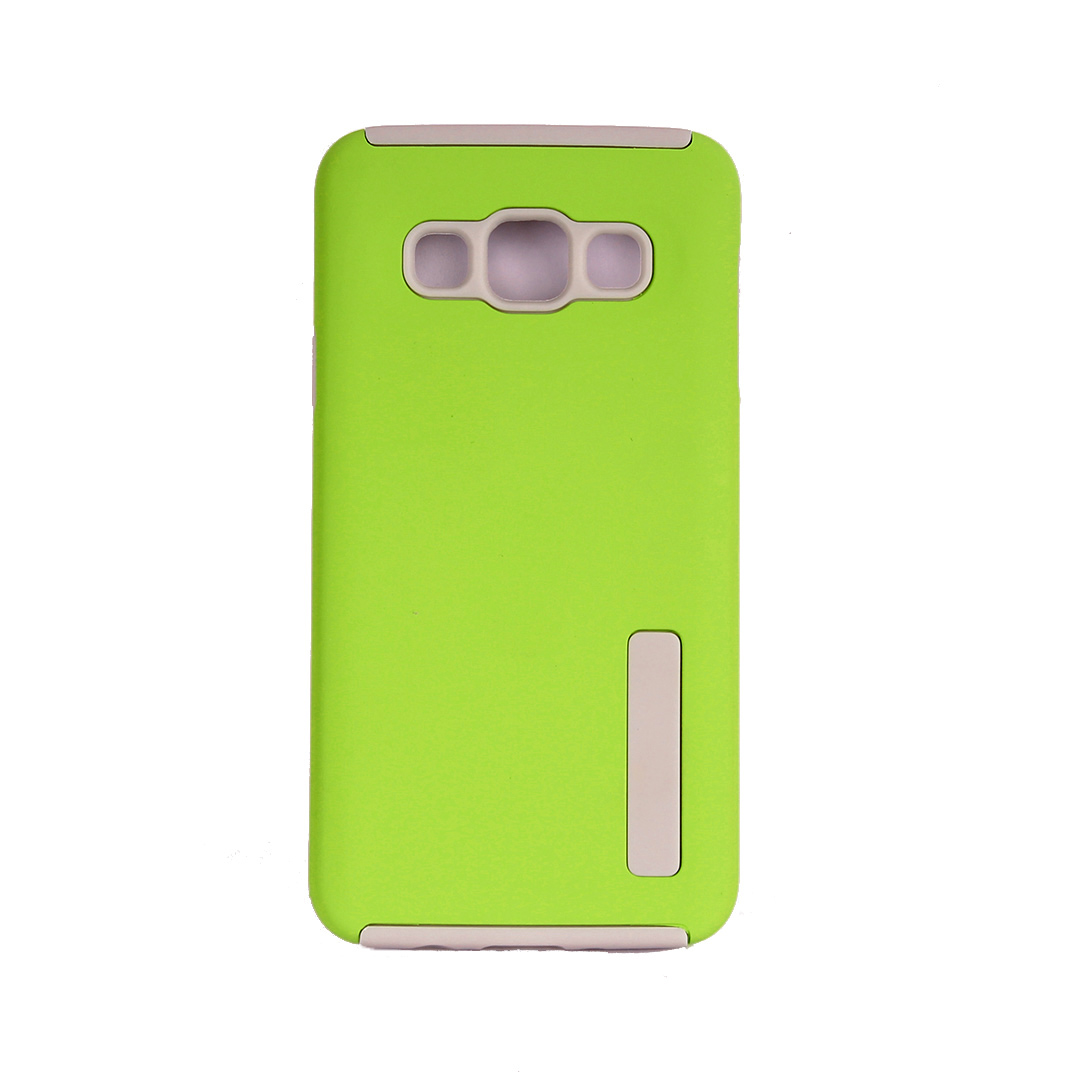 Lime Green - Suojakuori, Samsung Galaxy A3 (2015)