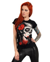 Liquor Brand Dead Girl - Lady Fit T-paita