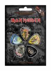 Iron Maiden The Faces Of Eddie - Plektrasetti 5kpl