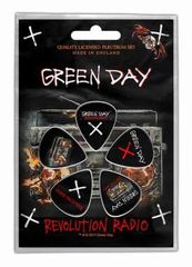 Green Day Revolution - Plektrasetti 5kpl