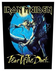 Iron Maiden Fear of the Dark - Kangasmerkki, selkä
