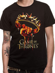 Game Of Thrones - Crown Logo - T-paita
