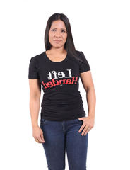Left Handed - Lady Fit T-paita