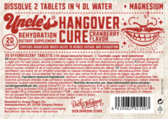 Dick Johnson - Uncle's Hangover Cure Tablets
