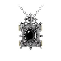 Alchemy Gothic Orthodox Icon Locket - Kaulakoru