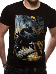 Batman City Scape - T-paita