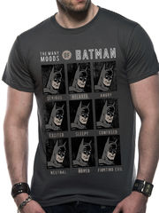 Batman Moods Of Batman - T-paita