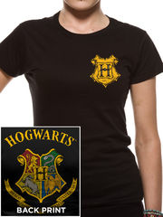 Harry Potter Colour Crest Fitted - T-paita