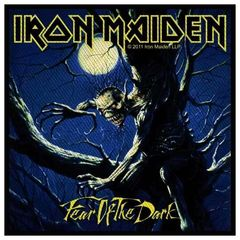 Iron Maiden Fear Of The Dark - Kangasmerkki