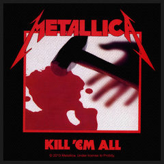 Metallica Kill Em All - Kangasmerkki