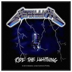 Metallica Ride The Lightning - Kangasmerkki