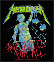 Metallica And Justice For All - Kangasmerkki