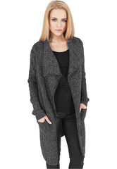 Urban Classics Knitted Long Cape - neuletakki