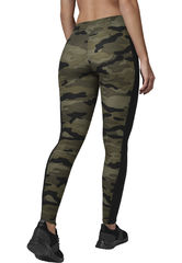 Urban Classics Wood Camo Stripe - legginsit