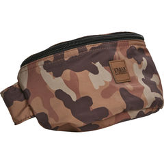 Urban Classics Camo Hip Bag - Vyölaukku, brown camo