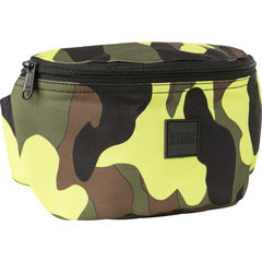 Urban Classics Camo Hip Bag - Vyölaukku, yellowcamo