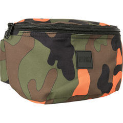 Urban Classics Camo Hip Bag - Vyölaukku, orange camo