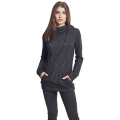 Urban Classics Slub Terry High Neck - Naisten huppari