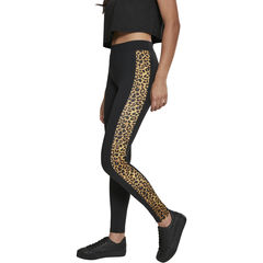 Urban Classics Side Striped Pattern - Legginsit, leo