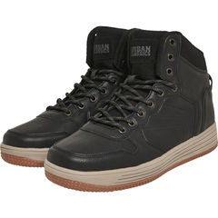 Urban Classics High Top Winter Skeakers - Talvikengät, black