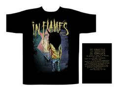 In Flames Mirrors Truth - T-paita