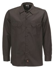 Dickies Slim Shirt, musta