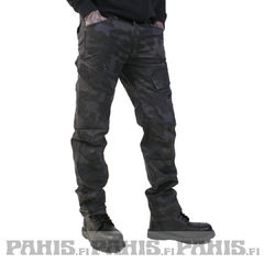 Brandit Adven Slim Fit - Reisitaskuhousut. darkcamo
