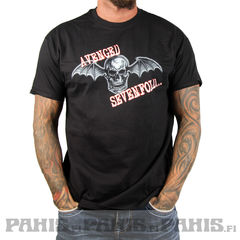 Bändipaidat Avenged Sevenfold  Death Bat - T-paita