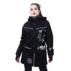 Heartless Kitty Cult Parka - Talvitakki