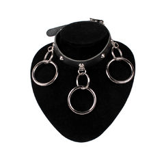 Bullet 69  - Choker, conical medium rings
