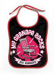 Six Bunnies Grandpa Rocks - Ruokalappu