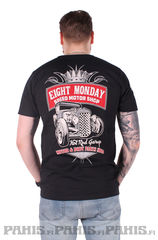 Eight Monday Motor Shop - T-Paita