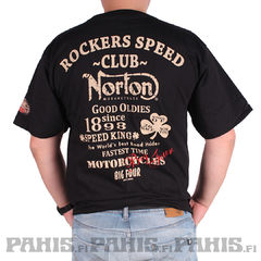Oil Leak Norton Club - T-Paita