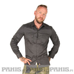 Dickies Slim Shirt, Charcoal