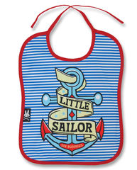 Six Bunnies Little Sailor - ruokalappu