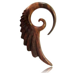 Wooden Wing Spiral