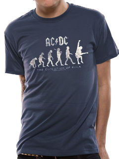 AC/DC Evolution of Rock - T-paita