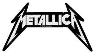 Metallica Shaped Logo - Kangasmerkki