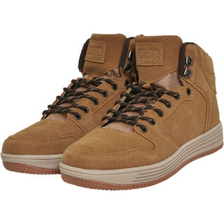 Urban Classics High Top Winter Sneakers - Talvikengät, honey