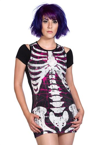 Banned Sequins Skeleton - Toppi