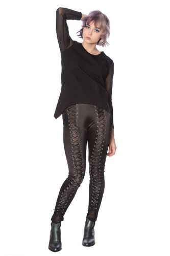 Banned Lace Up Lycra - Legginsit