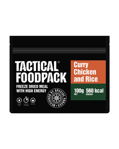 Tactical Foodpack - Curry kanaa ja riisiä