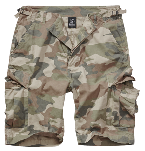Brandit BDU Ripstop - Shortsit, light woodland