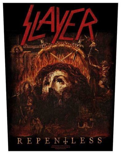 Slayer Repentless - Kangasmerkki, selkä