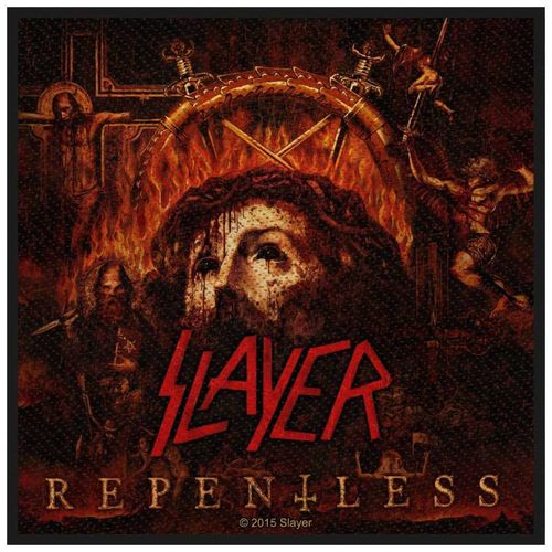 Slayer Repentless - Kangasmerkki